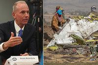 """Boeing řeší další poruchy. """"Tragédie nás velmi tíží,"""" lituje nehod šéf společnosti"""