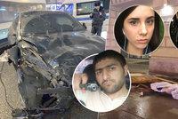 Řidič BMW (30) zabil v centru města 2 lidi: Před jízdou se omámil rajským plynem a havaroval