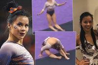 Při soutěži si zlomila obě nohy: Gymnastka podstoupila operaci: Bude ještě někdy chodit?