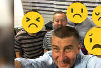 """Babišovi z vysmátého selfie zůstal jen Brabec. """"Je to jízda na tygrovi,"""" ví ministr"""