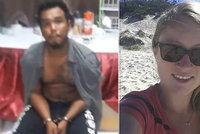 Vražda Miriam (†26) v Thajsku: Feťák ukázal, co dívce dělal!