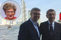 Komentář: Babiš vyslal jasný vzkaz ČSSD. Kdo půjde po Novákové a Ťokovi z vlády?