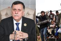 Evropě hrozí 800 tisíc nových uprchlíků, válku nám vnutili, varuje premiér Libye