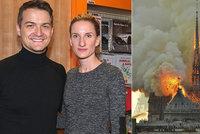 Manžel Banášové Vincze: Požár Notre-Dame? Nepřehánějme! Povyk pro dřevěnou střechu