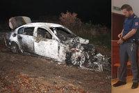 Opil se a sedl do bavoráku: Zabil chodce, ujel a auto za Brnem zapálil, tvrdí obžaloba