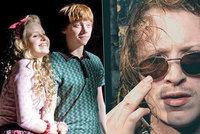 Zemřel bratr hvězdy z Harryho Pottera! Jeho tělo našli na kolejích