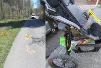 Řidič srazil autem kočárek s dítětem a ujel! Chodci naměřili skoro 2 promile