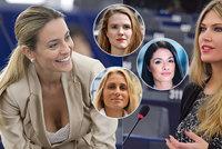 Miss EU: Krásná Eva, Babišova blondýna i sexy ex Berlusconiho. Přibude žen v Bruselu?