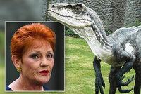 """Senátorka popírá, že za globální změny může člověk. Jako """"důkaz"""" tasila dinosaury"""
