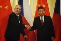 Zeman v dopise Si Ťin-pchingovi: Česká vláda respektuje politiku jedné Číny