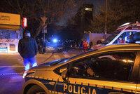 Muž se zapálil u sídla premiéra ve Varšavě. Na místě našli dopis