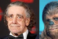 Fanoušci Star Wars v slzách: Zemřel představitel (†74) legendárního Chewbaccy
