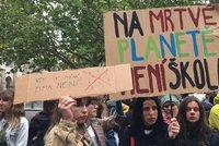 """Další protest za klima: """"Politici, přidejte se k nám!"""" volají studenti. A sejdou se znovu"""