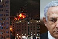 Radikály v Pásmu Gazy zasypali raketami. Izraelská armáda se připravuje k boji