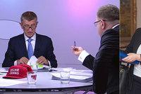 """Ostrý Babiš u Moravce: """"Maláčová neví, na co máme banky."""" Ministryně: Urážky a folklór"""