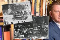 """Koncem války se v Praze vraždilo, upalovalo i věšelo na lampy. """"Bez zákonnosti se zlo páchá lehce,"""" říká Jiří Padevět"""