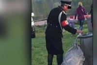 Liberečan přišel pálit čarodějnice v nacistické uniformě! Hrozí mu kriminál