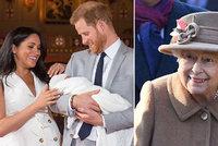 Jméno syna Meghan a Harryho konečně odtajněno! Čekalo se na královnu