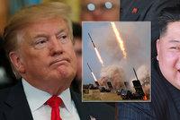 """Nové odpaly raket KLDR Trumpa rozhodně nepotěšily: """"Bereme to velice vážně"""""""