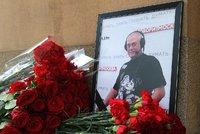 Přední ruský novinář zemřel v Moskvě po pádu z motorky. Zpovídal i zavražděného Litviněnka