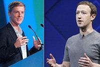 Rozbijme Facebook, Zuckerberg má příliš velkou moc, vyzývá spoluzakladatel sítě