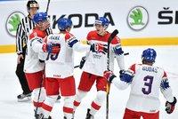 Paráda na Mistrovství světa: Češi nakonec překvapivě přemohli mistrovské Švédy