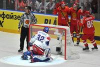 Čeští hokejisté podlehli sborné. Zápas s Ruskem prohráli 0:3