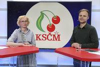 Vysílali jsme: Co si slibuje KSČM od omlazené kandidátky? Dají komunisté EU Konečnou?
