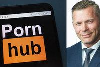 """""""Ano, jsem na Pornhubu."""" Poslanec hledá voliče na stránce pro dospělé, má důvod"""