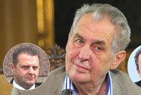 Zeman o konci Staňka: Schůzku chtěl už před dvěma týdny. Kritiky Ondráčka zchladil