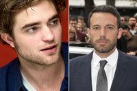 Filmový upír Pattinson vyfoukl roli slavného superhrdiny Benu Affleckovi!