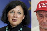 Babiš chce seškrtat miliardy za české předsednictví EU. A Jourová nemá křeslo jisté