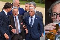 """""""Nejsem opilec,"""" brání se Juncker posměškům. U vrávorání našel viníka"""
