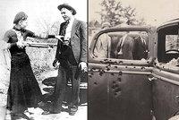 Slavné milence Bonnie a Clyde rozstříleli ze zálohy: Prozradila je poslední troufalá akce!