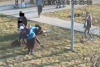 Brutální napadení v Butovicích: Útočník (22) hlídači dupal na hrudník, dostal podmínku