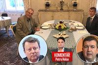 Komentář: Babiš se Zemanem drží ČSSD zas v hrsti, u demise Staňka pozor na hůl