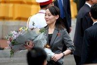 """Severokorejskou """"princeznu"""" opět zachvátil hněv. Kritizuje sousedy za """"nežádoucí"""" manévry"""