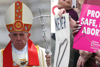 Papež František sepsul potraty: Je to, jako když si objednáte nájemného vraha