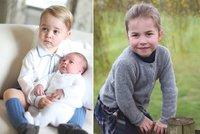 Princezna Charlotte (4) jde od září do školy. Kate s Williamem zaplatí 200 tisíc ročně