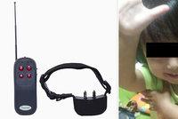 Otec nasazoval dětem elektrické obojky pro psy! Trestal je tak za neposlušnost