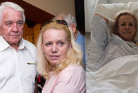 Krampolová lže sestřičkám v nemocnici! V hlavě má jen jediné