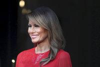 """Záhadná žena, která netrpí. Za """"chvalozpěv"""" na Melanii Trump čelí CNN kritice"""