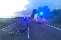 Černý víkend na Hané: Dva mrtví po čelním střetu a mladý řidič zemřel v noci na Prostějovsku!