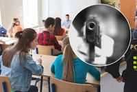 Střelbou v českých školách hrozil mladík (16)! Byl to žert, policie ho zadržela