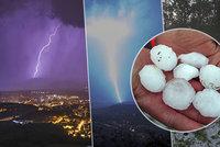 Tropy v Česku: V sobotu bude až 35°C. A znovu udeří bouřky a kroupy, sledujte radar