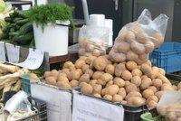 Brambory od loňska zdražily o 88 procent. Statistici: Rostou i ceny další potravin