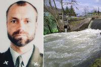 Hrdina! Voják Tomáš vytahal z Blanice tonoucí rodinu: Tatínkovi už pomoct nemohl