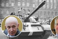 "Češi v roce 1968 zapalovali tanky a stříleli na nás, tvrdí ""pošukaný"" poslanec"