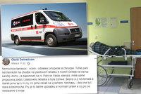 Seniorka v Benešově prý žíznila šest hodin na chodbě. Nemocnice přehazuje vinu
