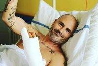 Aleš Lehký z Luneticu musel na operaci! Co se mu stalo?